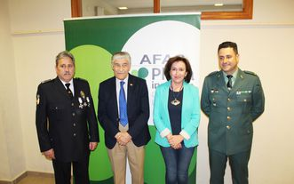 AFAS rinde homenaje a la Guardia Civil y Policía Local de Tomelloso
